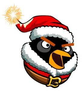 Bomb as Santa Claus