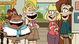 Bumper Sr., Yancy, Rita and Lynn Sr. Laughs