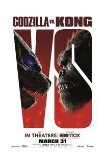 Godzilla vs. Kong official poster