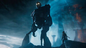 Iron Giant in Ready Player One