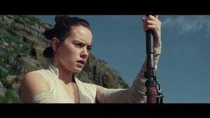 The Last Jedi Rey's Staff Lightsaber Training - HD