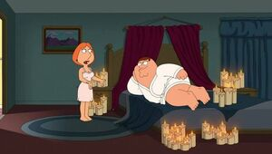 Valentine's day with Peter and Lois