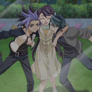 Lulu with Yuto and Shay