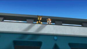 Paw Patrol (Rubble and Chase) Bridge