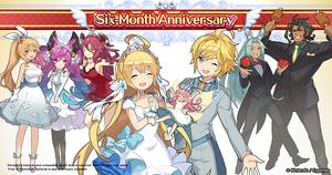 PromotionalArt 6 Month Anniversary Commemoration