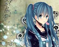 Schoolgirl miku wallpaper by mitche27-d4ro2bw