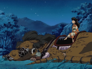 InuYasha Opening 6 - Jaken, A-Un and Rin