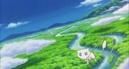 Mew traveling