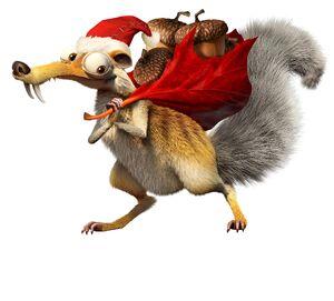 Scrat Christmas 2
