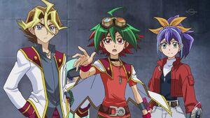 Shingo, Yuya, Selena & Reira