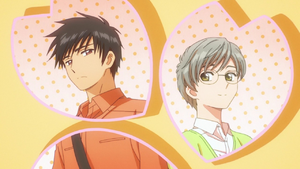 Touya and Yukito from CLEAR