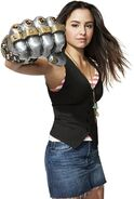 Aimee Carrero as Angie in Level Up 2