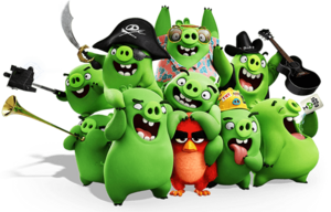 Angry Birds Movie Red 9