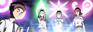 Izzy, Mimi, Kari and Sora