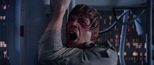 Luke Skywalker releasing stress