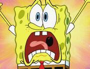 SpongeBob's comical yell