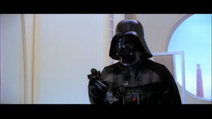 Vader confiscates