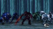 Awesome Ones Bakugan under Tiko's control