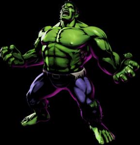 Hulk UMvC3 artwork
