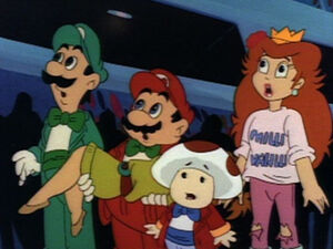 Mario and Friends at the Concert