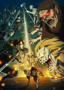 Attack on Titan Season 4 Key Visual 3