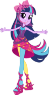 V2 rainbow rocks twilight sparkle vector by icantunloveyou-d7vl635
