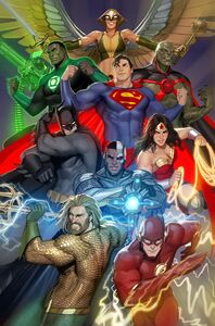 Justice League Vol 4 14 Textless Variant
