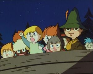 Snufkin with the kids