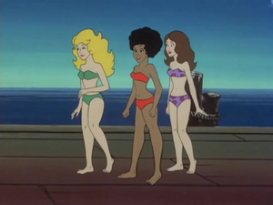 Taffy Dee Dee and Brenda bikinis