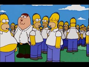 The Simpsons peter griffin cameo