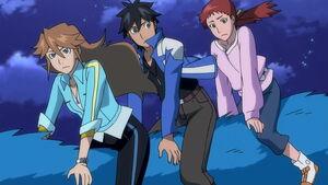 Chase, Jinja & Kimi