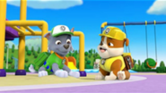 Paw Patrol Rocky and Rubble - Beat in the heat