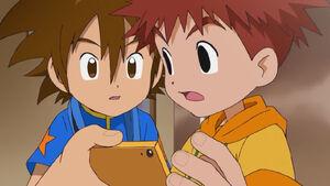 Taichi and Koshiro