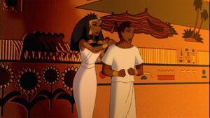 Joseph seduced by Zuleika