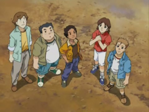 Rad, Alexis, Carlos, Fred and Billy (Armada Final)