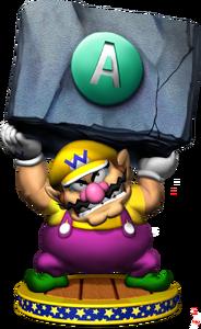 Wario Artwork - Mario Party 5