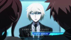 Byakuya responding to Makoto's distress call