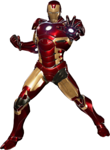 Iron man in Marvel vs. Capcom Infinite