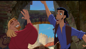 Miguel & Tulio high five