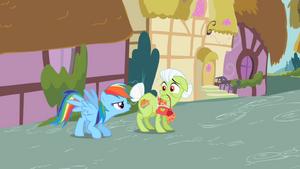 Rainbow Dash with Granny Smith S2E08