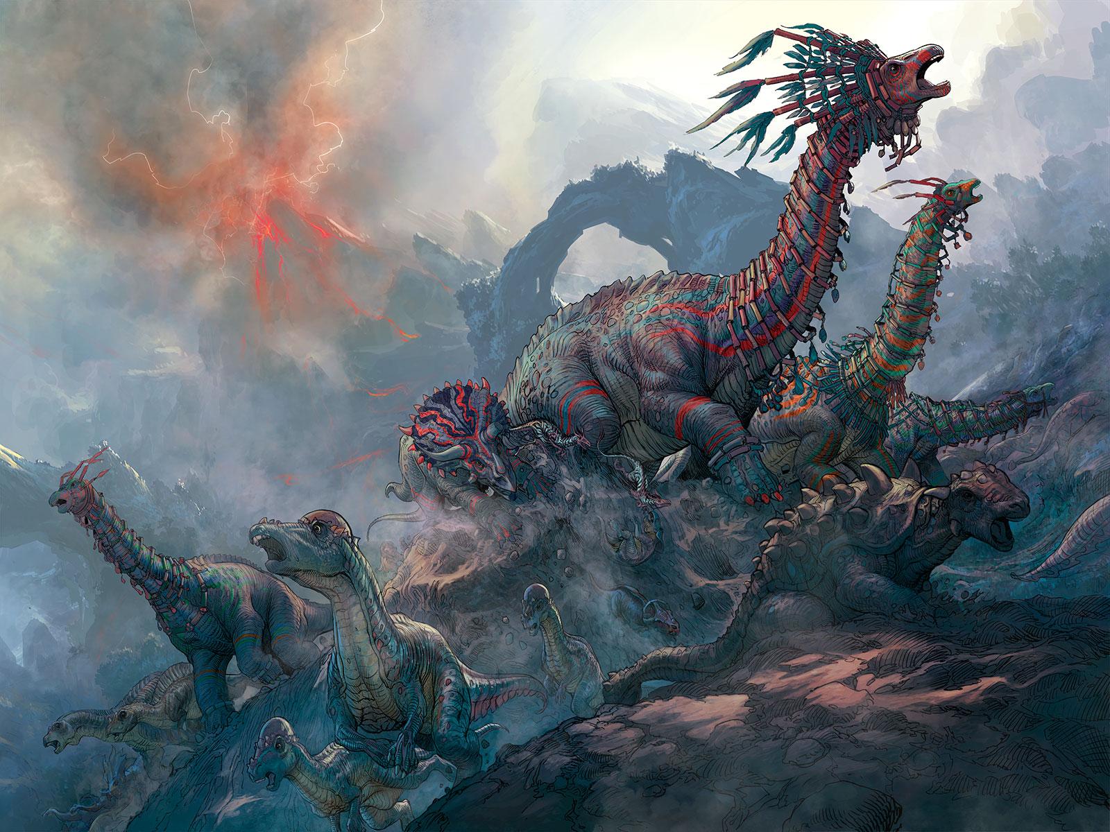 Dinosaurs (Dinosaurs vs Aliens)