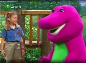PBS Kids Barney and Friends Barney and Emily