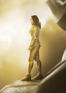 Trini Standing on her Zord