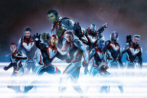 Avengers-Quantum Suits