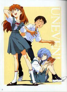 Daily Evangelion Anime Art 1
