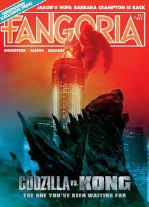 Godzilla vs. Kong cover magazine