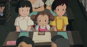 Mei in classroom