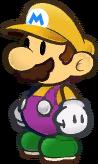 PMTTYD Mario W Emblem