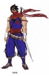 Strider hiryu-concept