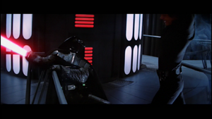 Vader leaning